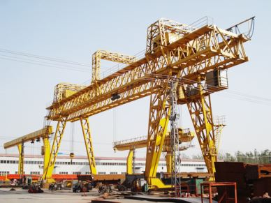 100 Ton Mobile Double Girder Gantry Crane Cena