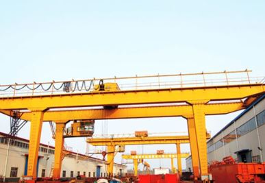 U-Shaped Double Girder Gantry Crane